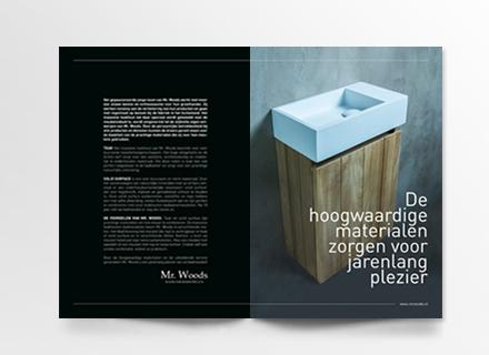 Brochure Mr. Woods - badkamermeubelen